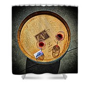 2698- Mauritson Wines Shower Curtain