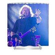 Barry Gibb Shower Curtain