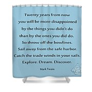 27- Twenty Years From Now Shower Curtain