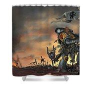Warhammer Shower Curtain