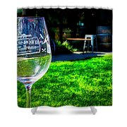 2719- Mauritson Wines Shower Curtain