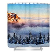 Nature Landscape Pictures Shower Curtain