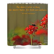 28- The More I Give To Thee Shower Curtain