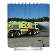 Firefighting Shower Curtain