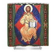 Jesus Christ Religious Art Shower Curtain