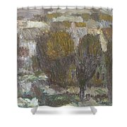 Village Shower Curtain