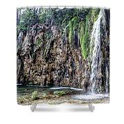 Plitvice Lakes National Park Croatia Shower Curtain