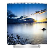 T C Landscape Shower Curtain