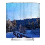Nature Landscape Pictures Shower Curtain