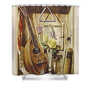 29445 Jesus Helguera Ausencia Shower Curtain