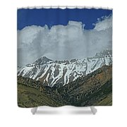 2d07509 High Peaks In Lost River Range Shower Curtain