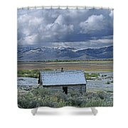 2d07515 Abandoned Cabin Shower Curtain