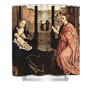 2luke Rogier Van Der Weyden Shower Curtain