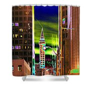 2nd Avenue Sunrise Shower Curtain
