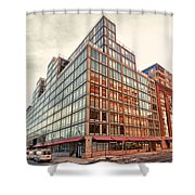 2nd St Lic 5 Shower Curtain