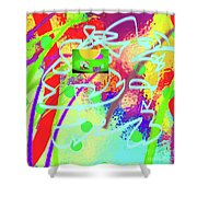 3-10-2015dabcdefghijklmnopqrtuvw Shower Curtain