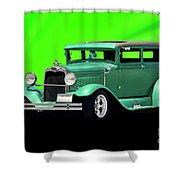 1930 Ford Tudor Sedan Shower Curtain