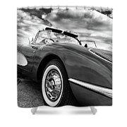 1959 Chevrolet Corvette Shower Curtain