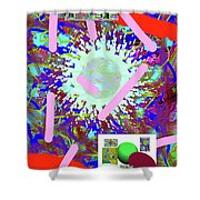 3-21-2015abcdefghijklmnop Shower Curtain