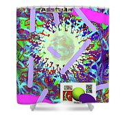 3-21-2015abcdefghijklmnopqrtuvw Shower Curtain