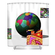 3-23-2015d Shower Curtain