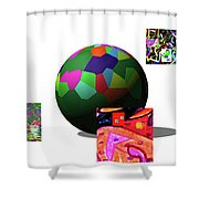 3-23-2015dab Shower Curtain
