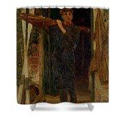 31032 Henry Scott Tuke Shower Curtain