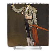 A Matador Shower Curtain