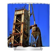 Abandoned Quarry Shower Curtain