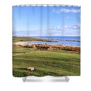 Abbotsbury - England Shower Curtain
