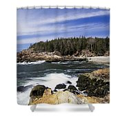 Acadia National Park - Maine Usa Shower Curtain