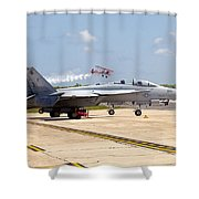 Airshow Shower Curtain