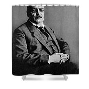 Alois Alzheimer, German Neuropathologist Shower Curtain