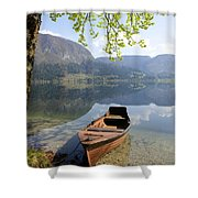 Alpine Moods Shower Curtain
