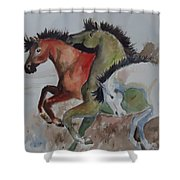 3 Amigos Shower Curtain