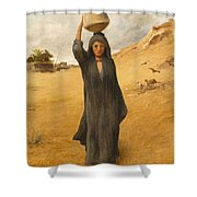 An Arab Girl Shower Curtain