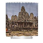 Angkor Wat Shower Curtain