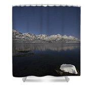Arctic Night Shower Curtain
