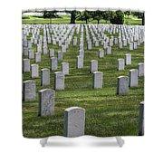 Arlington Cemetery Washington Dc Usa Shower Curtain