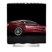 Aston Martin One-77 Shower Curtain