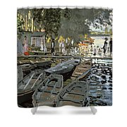 Bathers At La Grenouillere Shower Curtain