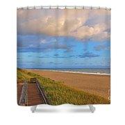 3- Juno Beach Shower Curtain