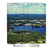 Beautiful Wisconsin Dells Shower Curtain