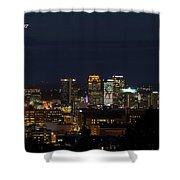 Birmingham Skyline Shower Curtain