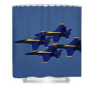 Blue Angels Shower Curtain