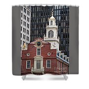 Boston Old State House Shower Curtain