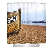 Brighton Pier Shower Curtain