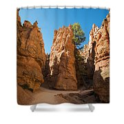 Spires On Navajo Trail Shower Curtain