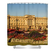 Buckingham Palace, London, Uk. Shower Curtain