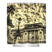Buckingham Palace Vintage Shower Curtain